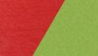 Bright Red / Lime Green